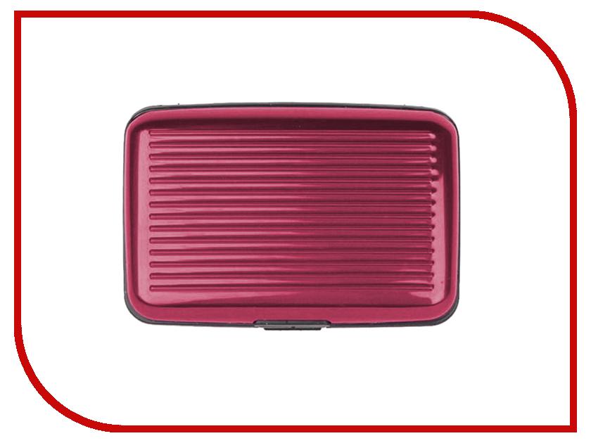 Гаджет Foshan Deluxe Aluma 1343 Кошелек для карточек Red