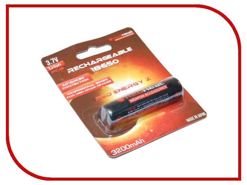Аккумулятор RedHeat 18650 3.7V 3200mAh<br>