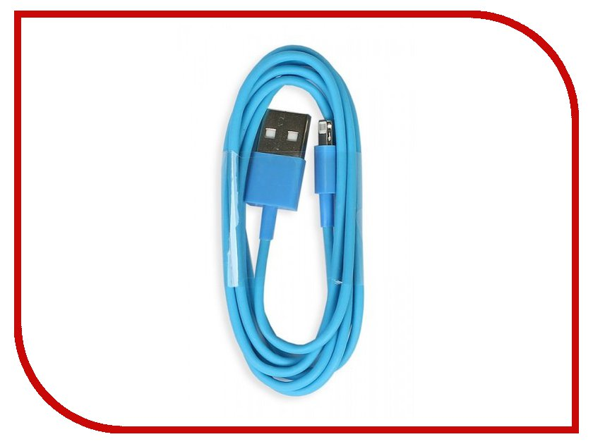 Аксессуар SmartBuy USB - 8 pin Lightning APPLE iPhone 5/5S/6/6 Plus 1m iK-512c Blue