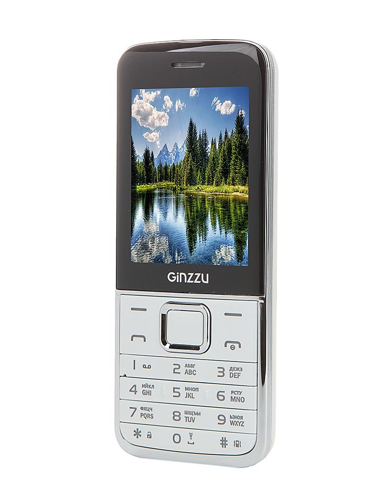 Сотовый телефон Ginzzu M101 DUAL White<br>