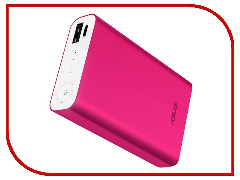 Аккумулятор ASUS ZenPower ABTU005 10050mAh Pink 90AC00P0-BBT005 / 90AC00P0-BBT030 / 90AC00P0-BBT080 мобильный аккумулятор asus zenpower abtu011 li ion 10050mah 2 4a золотистый 2xusb