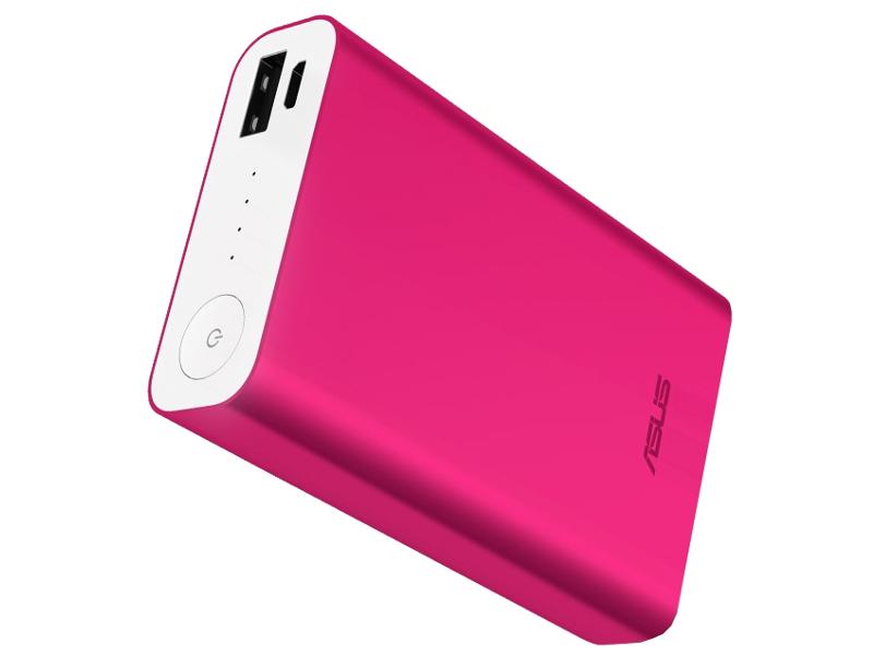 Внешний аккумулятор ASUS Power Bank ZenPower ABTU005 10050mAh Pink 90AC00P0-BBT005 / 90AC00P0-BBT030 90AC00P0-BBT080