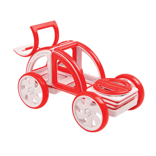 Конструктор Magformers My First Buggy 14 Red 63145<br>