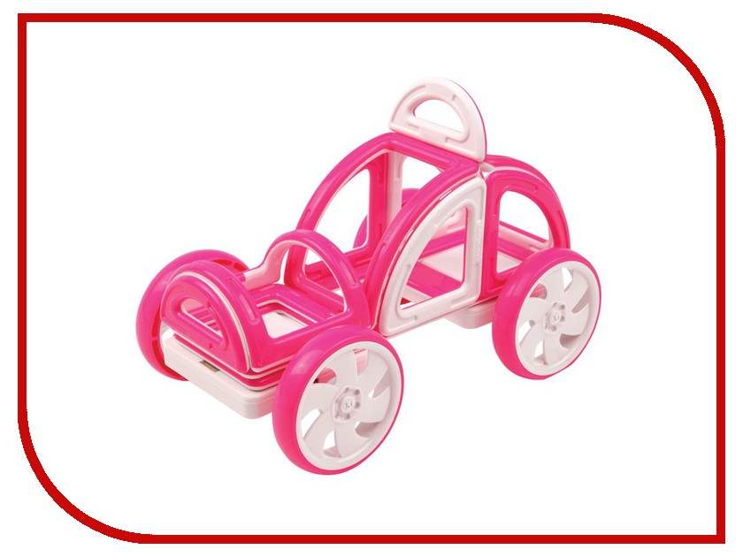 Конструктор Magformers My First Buggy 14 Pink 63147 my first encyclopedia