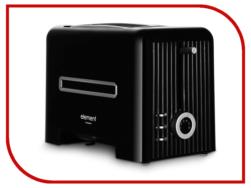 Тостер Element ElToaster FE01PB Black<br>