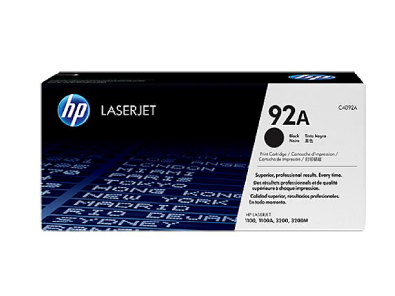 Аксессуар HP C4092A Black для LaserJet 1100/3200