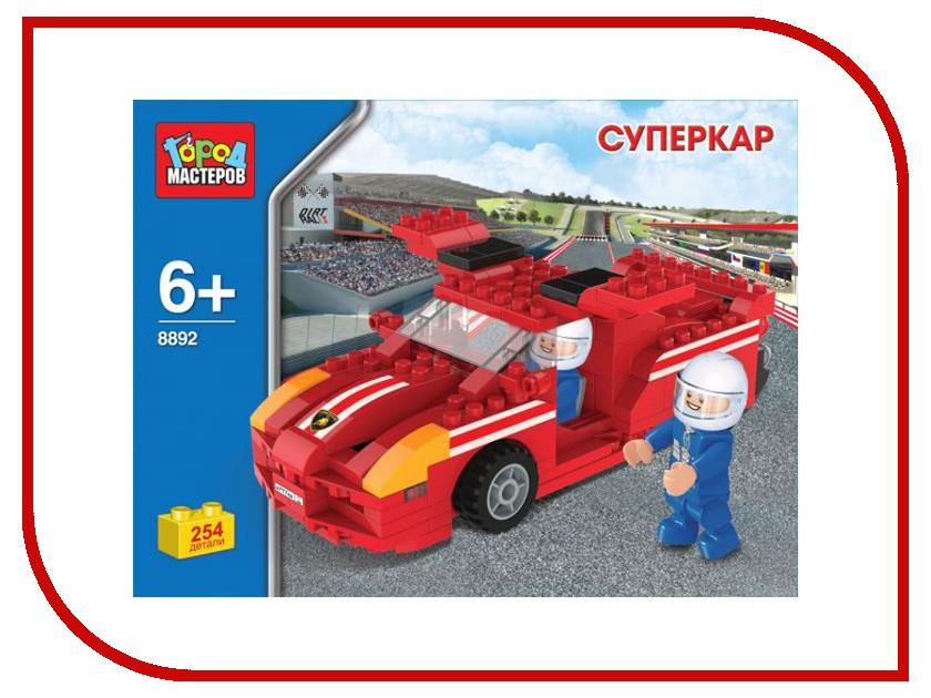 Конструктор Город Мастеров Суперкар BB-8892-R игрушка конструктор город мастеров горка землянички bb 1506 r