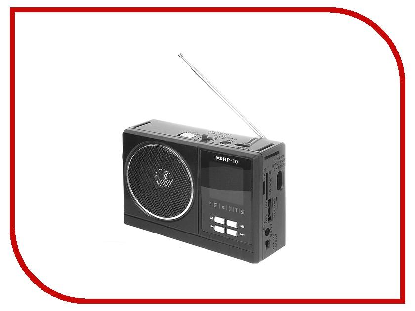 Радиоприемник Сигнал electronics Эфир 10 Black<br>