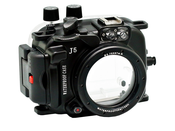 Аквабокс Meikon Nikon 1 J5 Kit 10-30mm со сменными портами