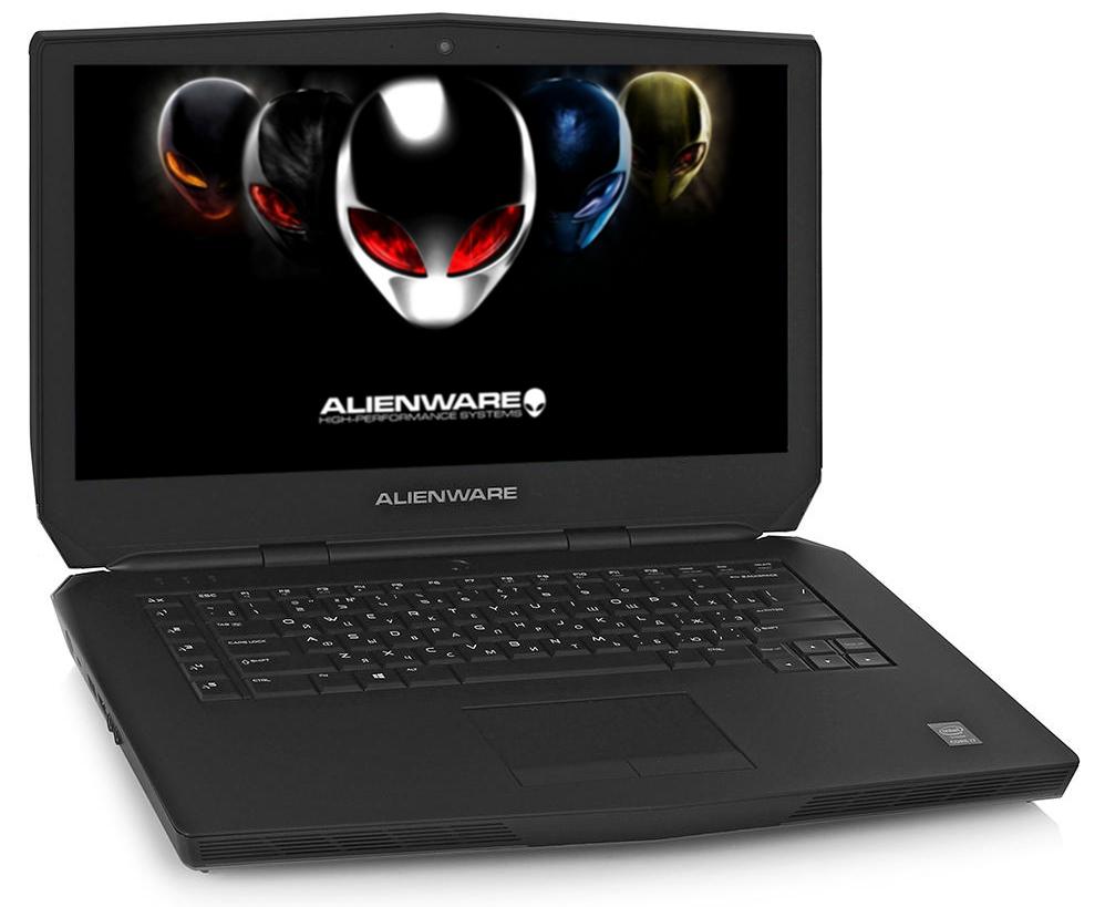 Ноутбук Dell Alienware 15 A15-1608 (Intel Core i7-6700HQ 2.6 GHz/16384Mb/1000Gb + 256Gb SSD/nVidia GeForce GTX 980M 4096Mb/Wi-Fi/Cam/15.6/1920x1080/Windows 10 64-bit)