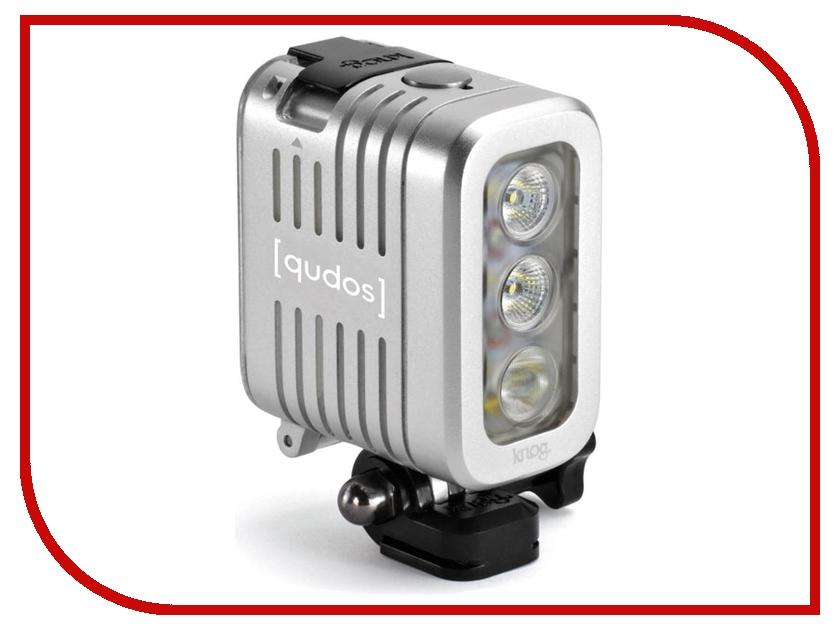 Аксессуар SP Knog Qudos Action Light Silver 11626 Фонарик<br>