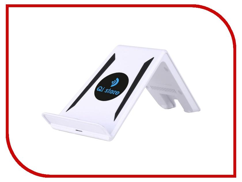 Зарядное устройство Qi store Slant White<br>