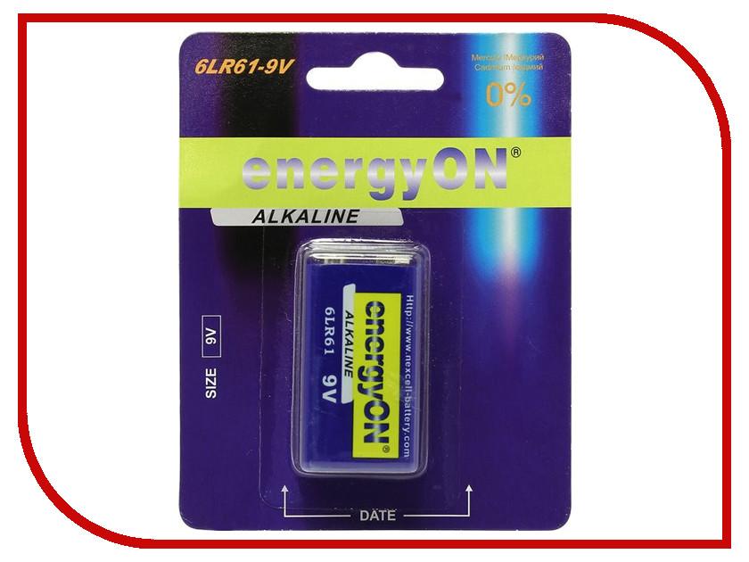 Батарейка NEXcell energyON Alkaline 6LR61-9V<br>