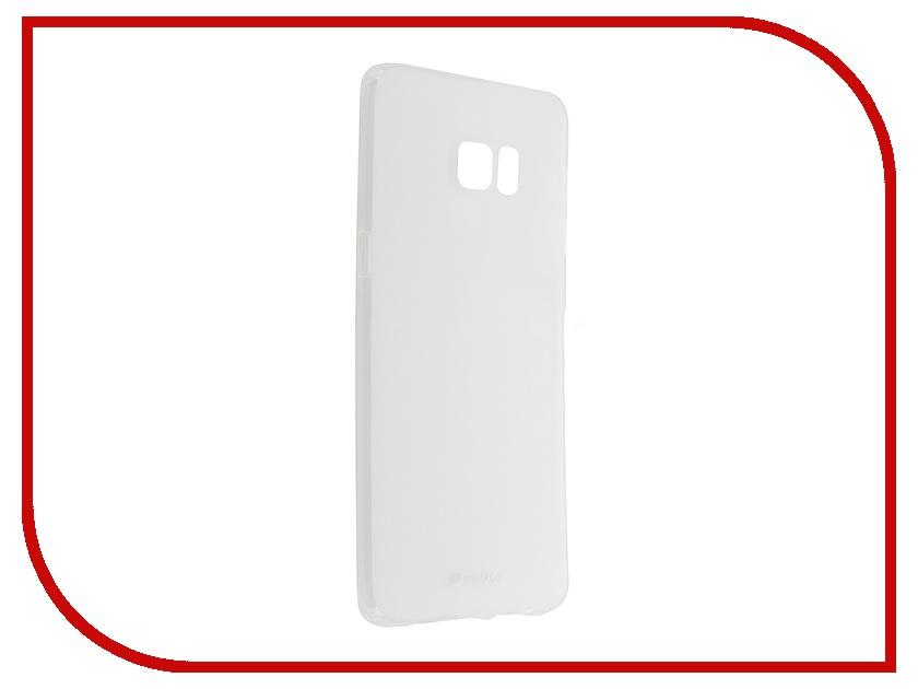 ��������� �����-�������� Samsung Galaxy S6 Edge+ Melkco Transparent Mat 8171