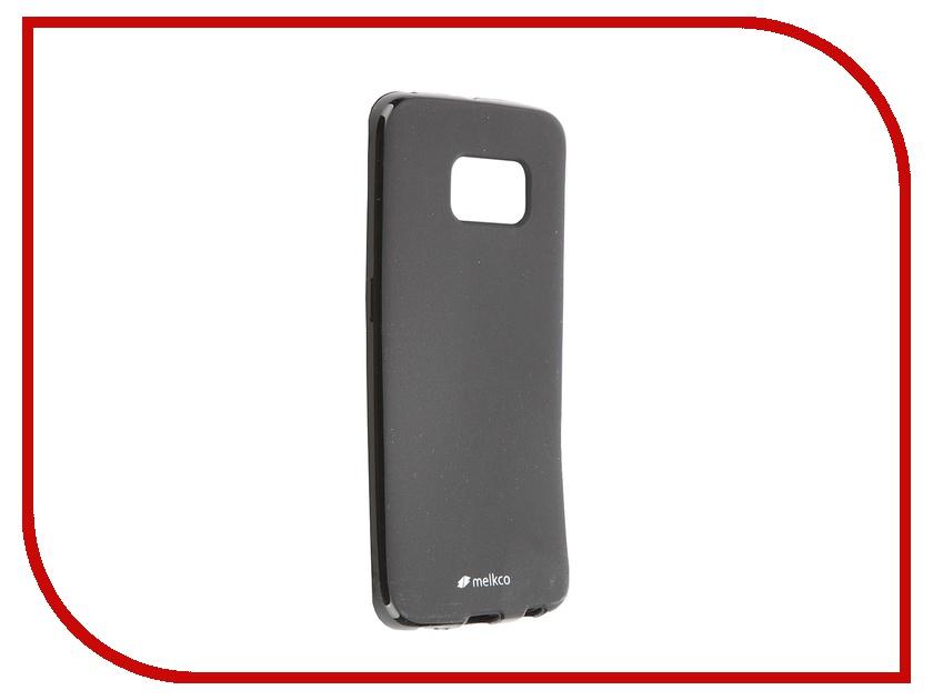Аксессуар Чехол-накладка Samsung G925F Galaxy S6 Edge Melkco Black Mat 7830 аксессуар чехол накладка micromax canvas viva a106 activ silicone black mat 46857