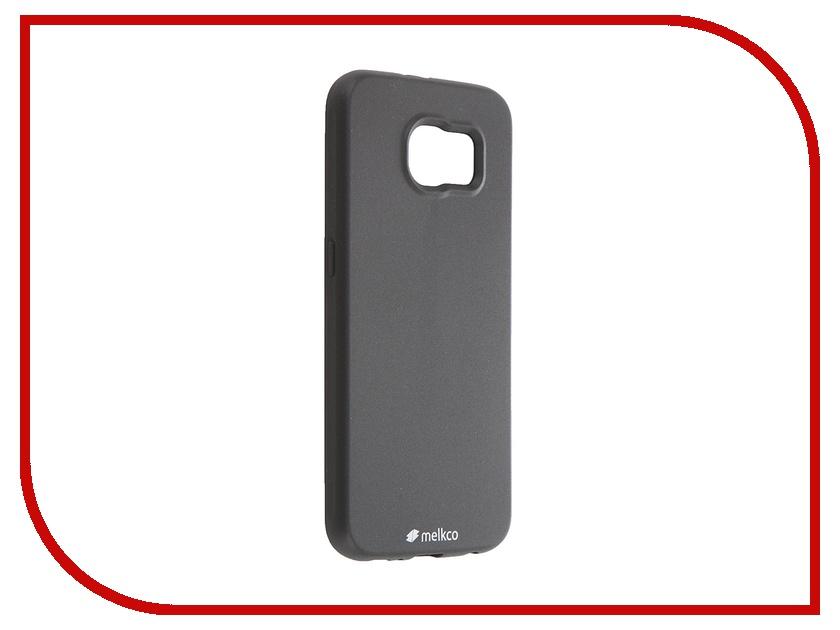 Аксессуар Чехол-накладка Samsung G920F Galaxy S6 Melkco Black Mat 7932<br>