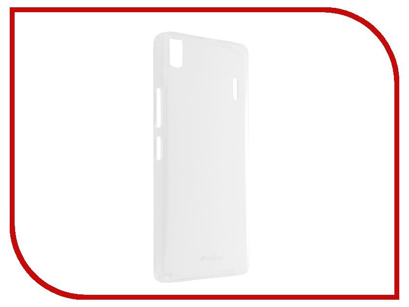 Аксессуар Чехол Lenovo A7000 Melkco Transparent 8163