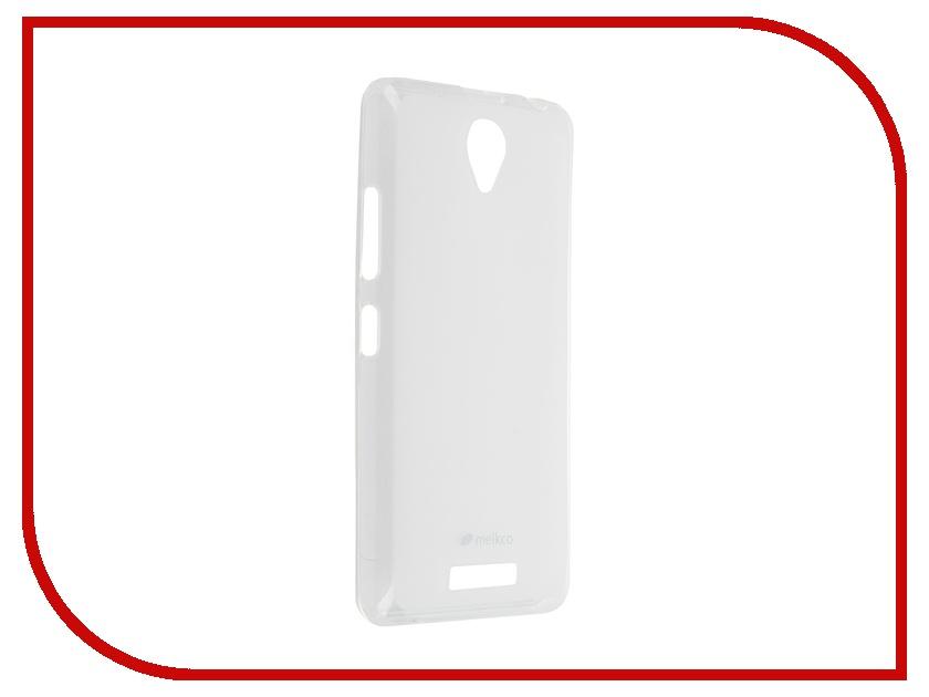 ��������� ����� Lenovo A5000 Melkco Transparent Mat 8162