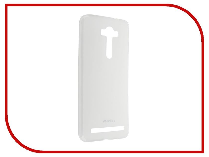 Аксессуар Чехол ASUS Zenfone 2 ZE550ml/ZE551ml Melkco Transparent Mat 8051<br>