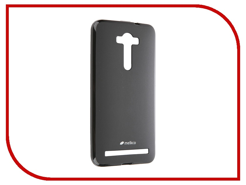 Аксессуар Чехол ASUS Zenfone 2 ZE550ml/ZE551ml Melkco Black Mat 8050<br>