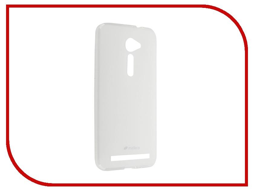 Аксессуар Чехол ASUS Zenfone 2 ZE500cl Melkco Transparent Mat 8174