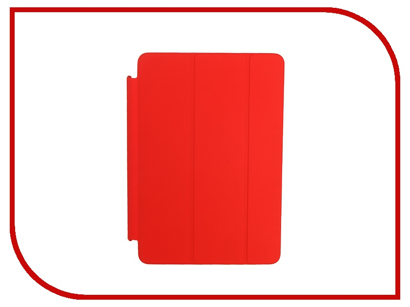 Аксессуар Чехол APPLE Smart Cover для iPad mini 4 Red MKLY2ZM/A