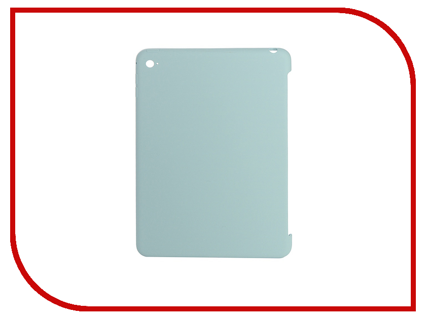 Аксессуар Чехол APPLE Silicone для iPad mini 4 Turquoise MLD72ZM/A<br>