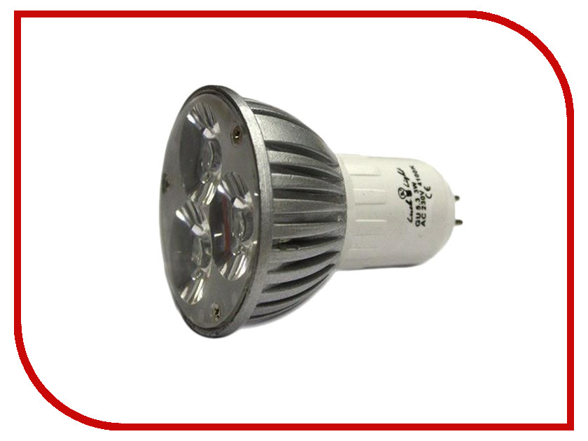 Лампочка Luck &amp; Light MR16 3W 4200K GU5.3 LS3W-C<br>
