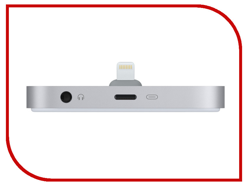 Аксессуар APPLE iPhone Lightning Dock ML8H2ZM/A Space Gray<br>
