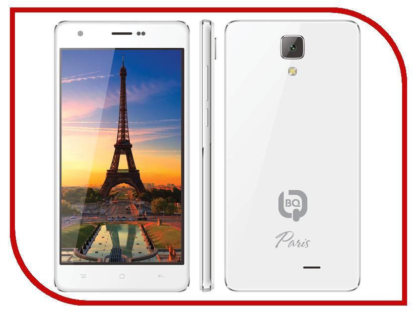 Сотовый телефон BQ BQS-5004 Paris White<br>
