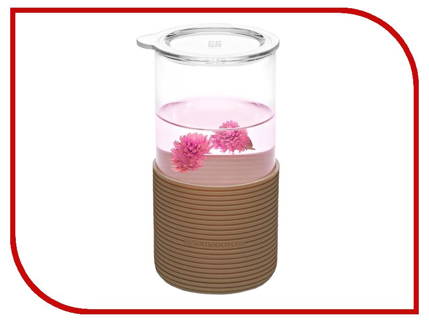Гаджет Foshan Sama Doyo стакан с ситечком Brown 3012
