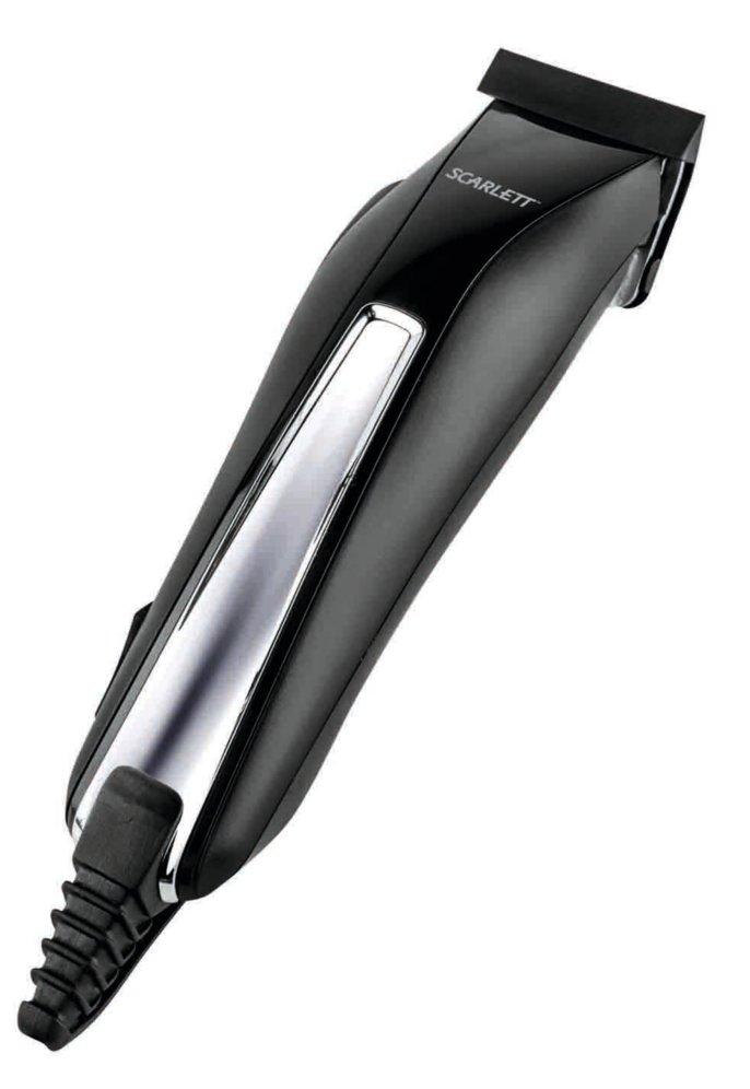 Машинка для стрижки волос Scarlett SC-HC63C01 Black<br>