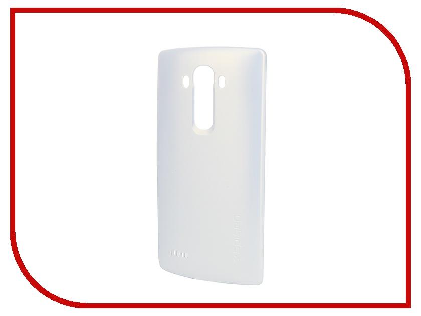 все цены на  Аксессуар Чехол LG H522Y G4c Spigen Thin Fit White SGP11514  онлайн