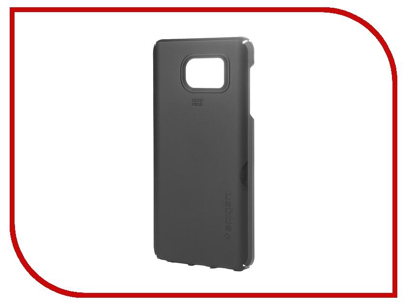 Аксессуар Чехол Samsung Galaxy Note 5 SGP Thin Fit Black SGP11680<br>