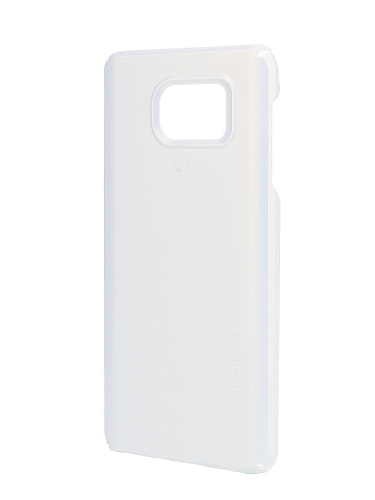 ��������� ����� Samsung Galaxy Note 5 SGP Thin Fit White SGP11682