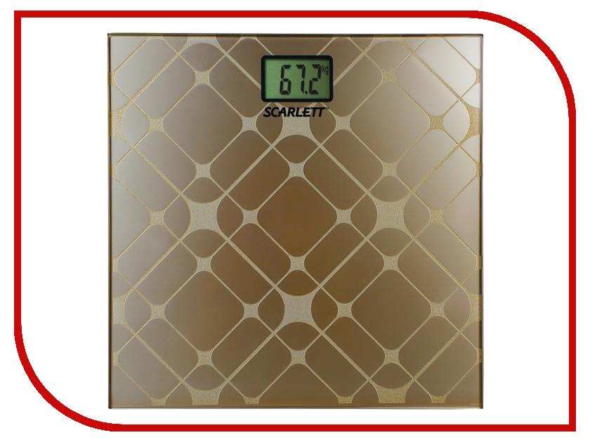Весы напольные Scarlett SC-BS33E073 весы напольные scarlett sc bsd33e894