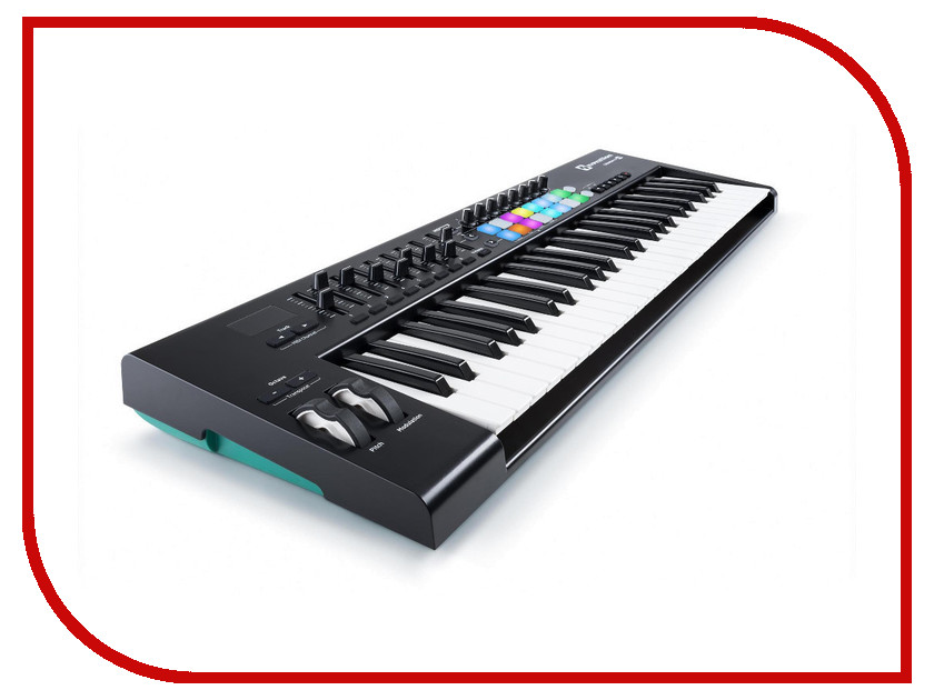 MIDI-клавиатура Novation Launchkey 49 MK2 novation psu01 eu