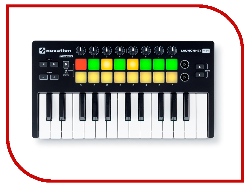 MIDI-контроллер Novation LaunchKey Mini MK2<br>