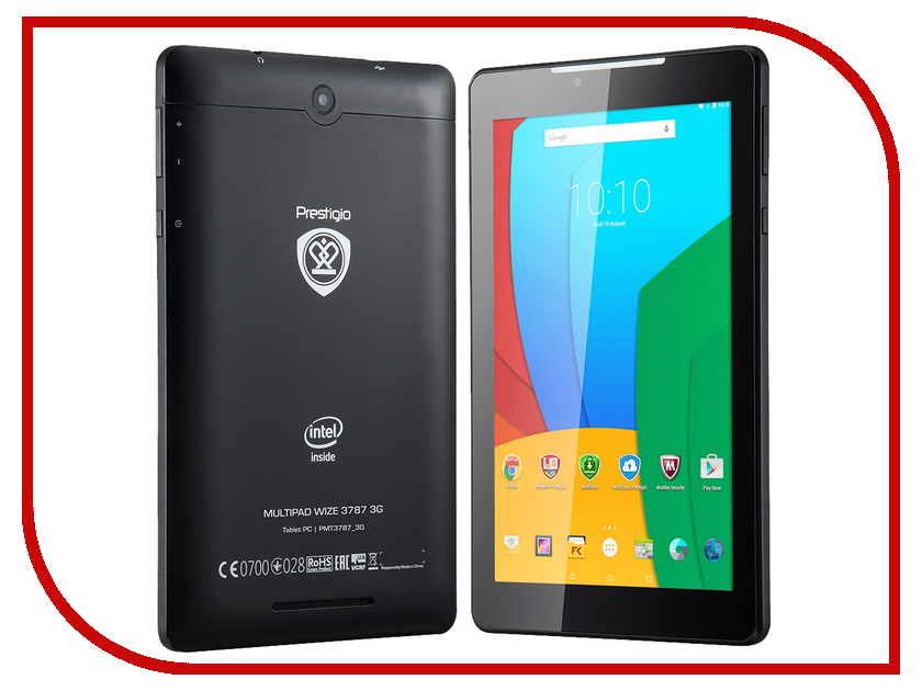 Планшет Prestigio MultiPad WIZE PMT3787 3G Black (Intel Atom x3-C3230RK 1.1 GHz/1024Mb/16Gb/3G/Wi-Fi/Cam/7.0/1280x800/Android)