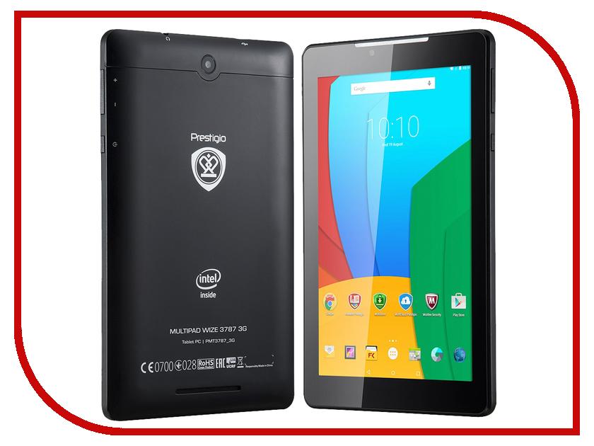 Планшет Prestigio MultiPad PMT3787 3G (Intel Atom x3 C3230 1.2 GHz/1024Mb/8Gb/Wi-Fi/3G/Cam/7.0/1280x800/Android)