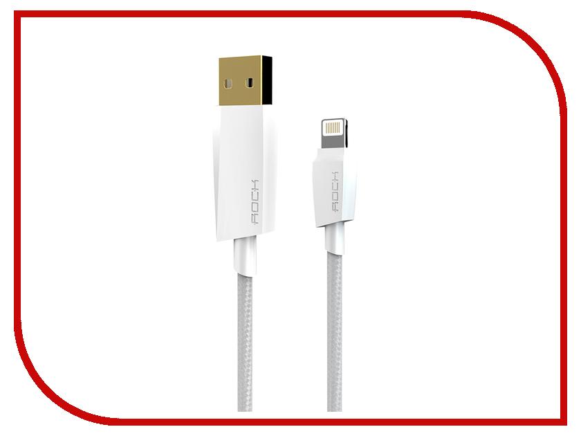 Аксессуар ROCK MFI USB-Lightning RCB0401 White<br>