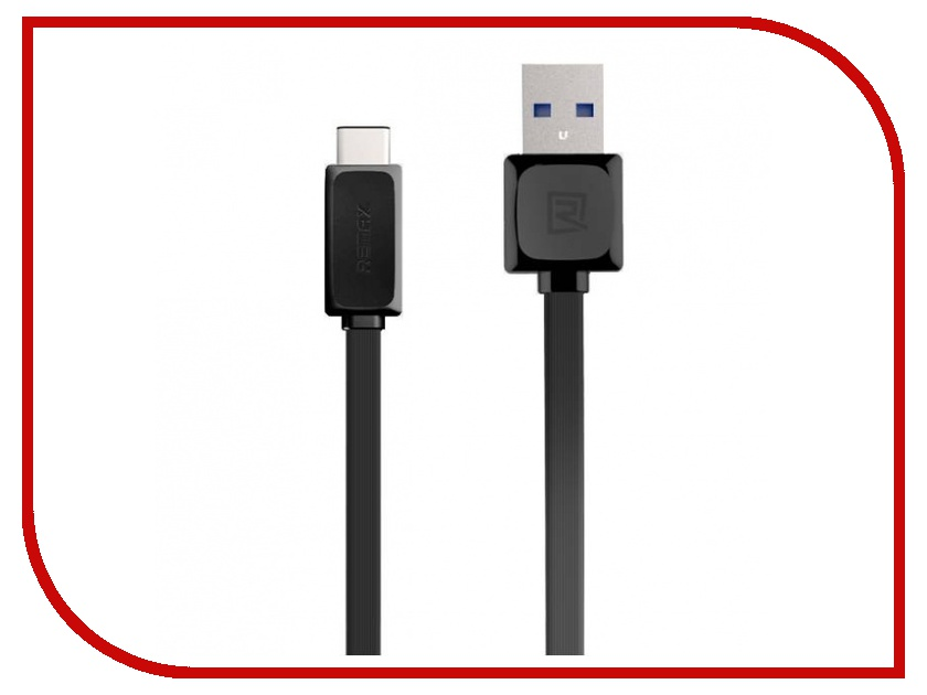 Аксессуар Remax USB to TYPE-C Black<br>