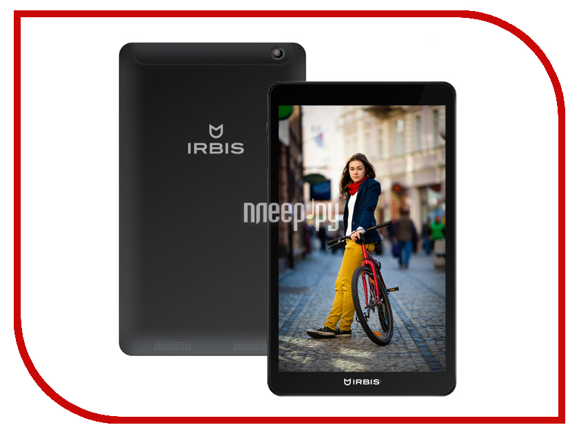 Планшет Irbis TZ93 MediaTek MTK8382 1.0 GHz/1024Mb/8Gb/Wi-Fi/3G/Bluetooth/GPS/Cam/9.6/1024x768/Android<br>