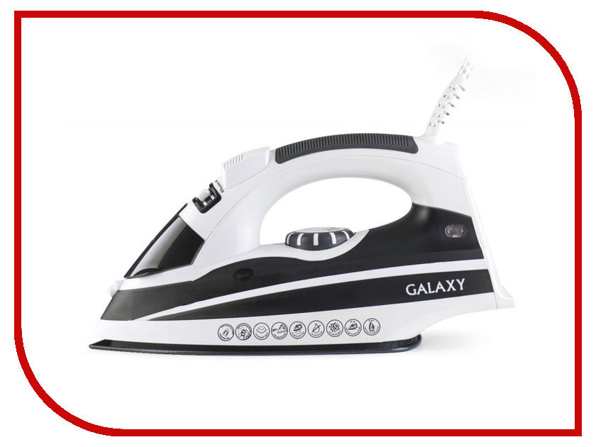 Утюг Galaxy GL6119 Black кукла simba кукла штеффи супермодель с аксессуарами