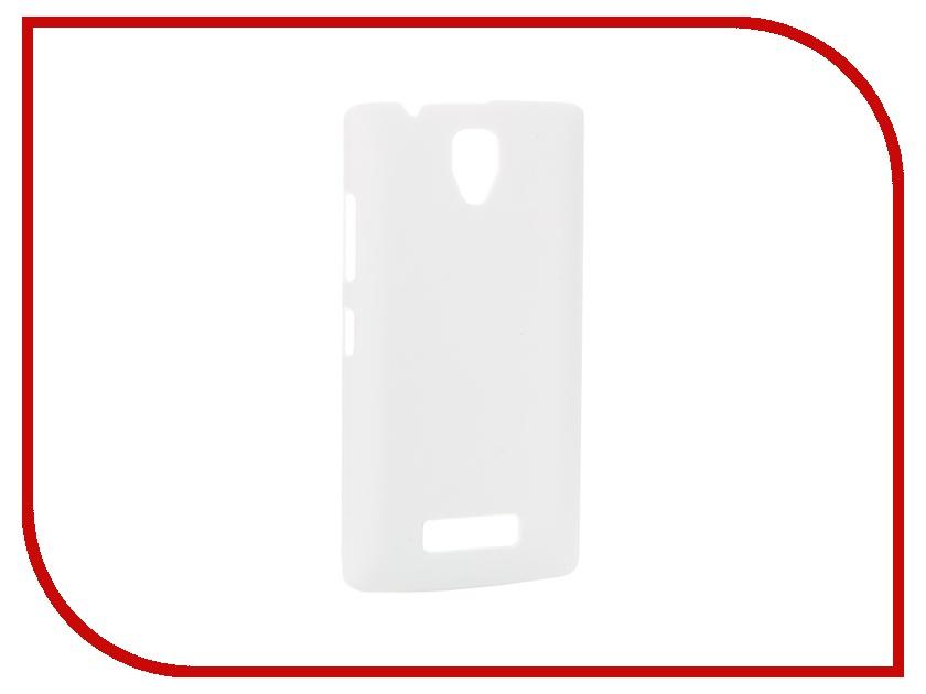 Аксессуар Чехол-накладка Lenovo A2010 SkinBOX 4People White T-S-L2010-002 + защитная пленка<br>