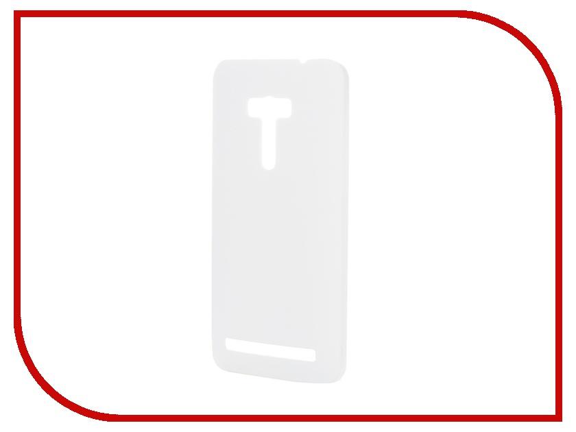 ��������� �����-�������� ASUS Zenfone Selfie ZD551KL SkinBOX 4People White T-S-AZS-002 + �������� ������