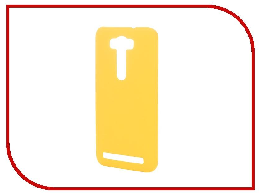Аксессуар Чехол-накладка SkinBox for ASUS Zenfone Laser 2 ZE500KL/ZE500KG Серия 4People Yellow T-S-AZL2-002 + защитная пленка<br>