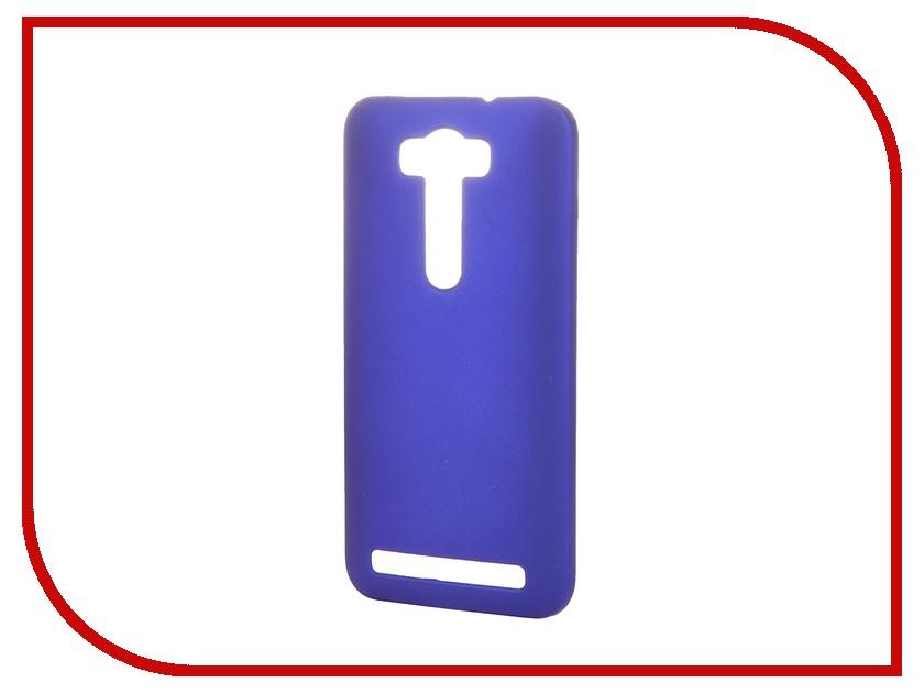 Аксессуар Чехол-накладка SkinBox for ASUS Zenfone Laser 2 ZE500KL/ZE500KG Серия 4People Blue T-S-AZL2-002 + защитная пленка<br>