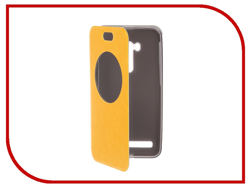 Аксессуар Чехол ASUS Zenfone Selfie ZD551KL SkinBOX Lux AW Yellow T-S-AZZD551KL-003<br>