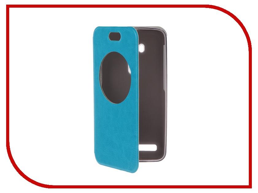 Аксессуар Чехол ASUS Zenfone Selfie ZD551KL SkinBOX Lux AW Blue T-S-AZZD551KL-003<br>